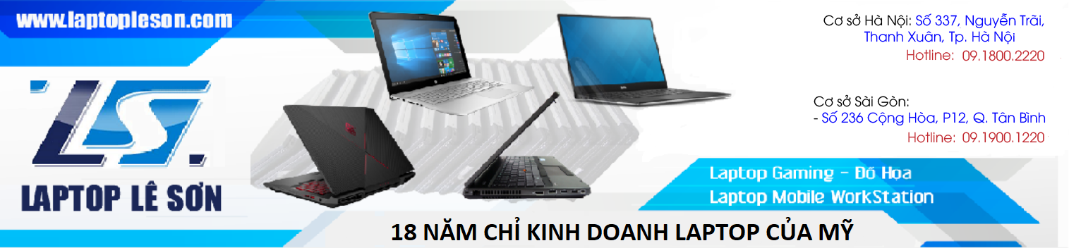 LÊ SƠN - 15 Năm chuyên Laptop Mỹ