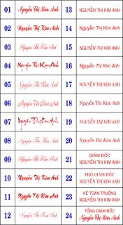 <<<KHẮC DẤU GIÁ RẺ>>> chuyên các loại dấu tên , chữ ký, đóng date, hoàn công .....ACE NHANH TAY - 11